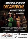 DECAMERONE vizi, virtù, passioni - adattamento e regia di Marco Baliani - 2014
